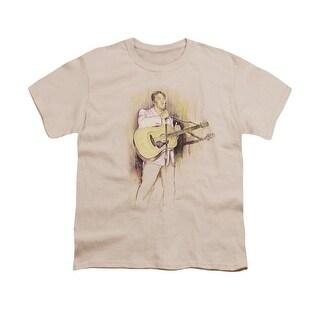 Elvis I Was The One Big Boys Youth Shirt