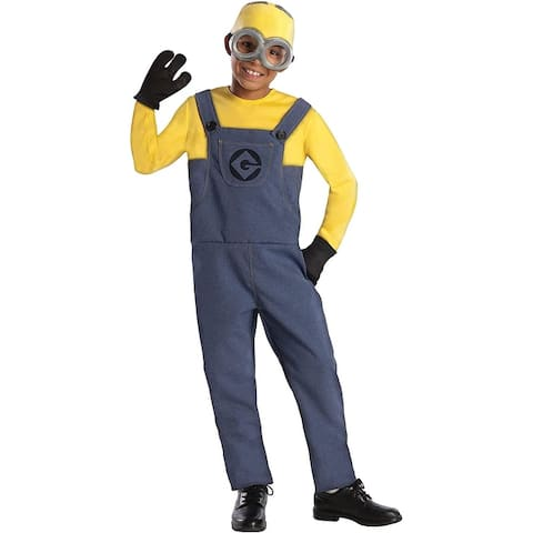Despicable Me 2 Minion Dave Costume Child - Blue