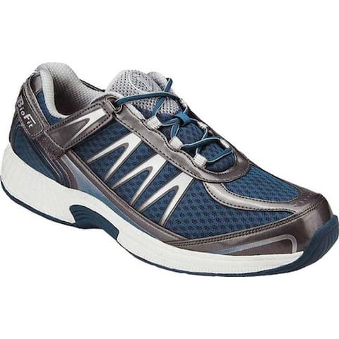Orthofeet Men's Sprint Royal Blue Synthetic