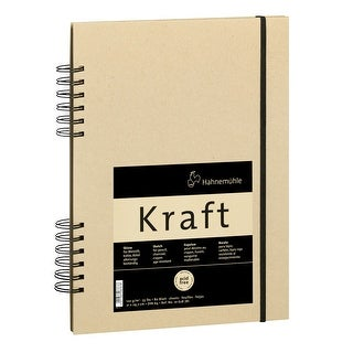 Hahnemuhle Kraft Paper A4 Sketch Book (Ochre Cover, 80 Sheets)