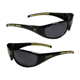 New Orleans Saints NFL Wrap 3 Dot Sunglasses