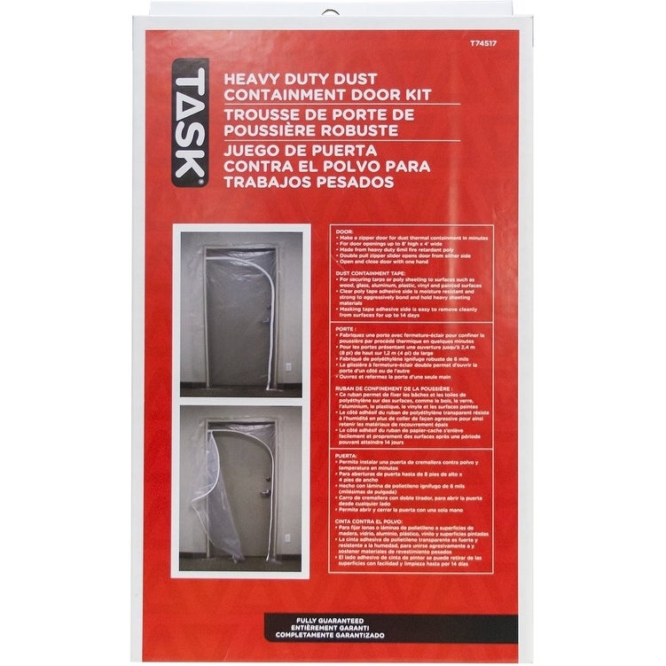 Task Tools T74517 QSR Heavy Duty Dust Containment Door Kit