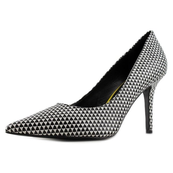Nine West Jackpot Women  Pointed Toe Leather Black Heels