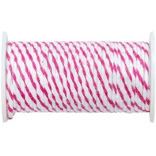 Pink - We R Memory Keepers Happy Jig Baker's Twine Wire 3Yds
