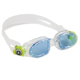 Aqua Sphere Moby Kid Blue Lens Swim Goggles - Translucent/Yellow