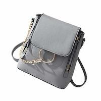93a57f9c8ecb Fashion Women Crossbody Backpack Purse Small Pu Leather Shoulder Bag Ladies  Cute Chain Satchel Bag. Sale