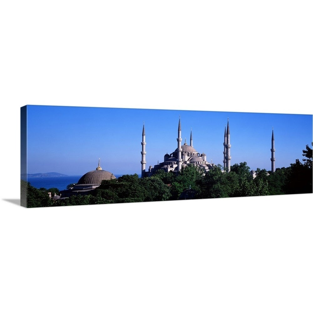Blue Mosque Istanbul Turkey Canvas Wall Art Overstock 16855691