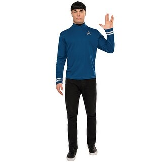 Rubies Deluxe Spock Adult Costume - Blue