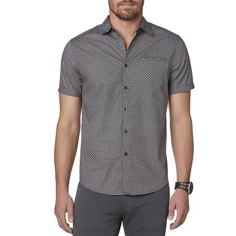 Structure Young Men's Short-Sleeve Woven Shirt