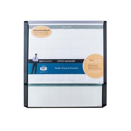Office Manager 3-in-1 Dry Erase Planning and Organization Center