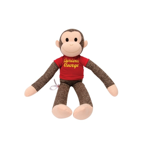Curious George Sock Monkey Figure