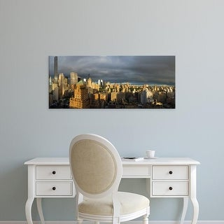 Easy Art Prints Panoramic Images's 'Midtown Manhattan skylines, Manhattan, New York City' Canvas Art