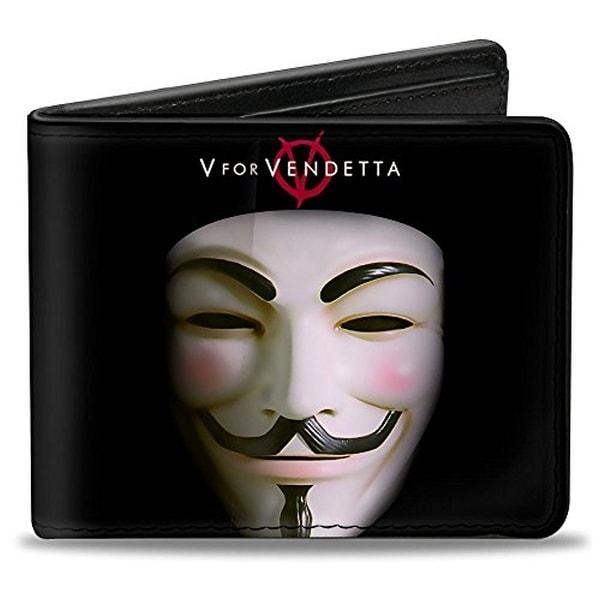 Buckle-Down Bifold Wallet V for Vendetta