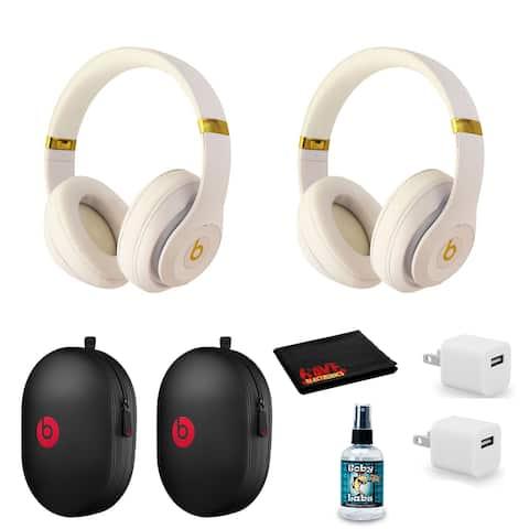 Beats Studio3 Wireless Series Over-Ear Headphones - Matte White/Gold