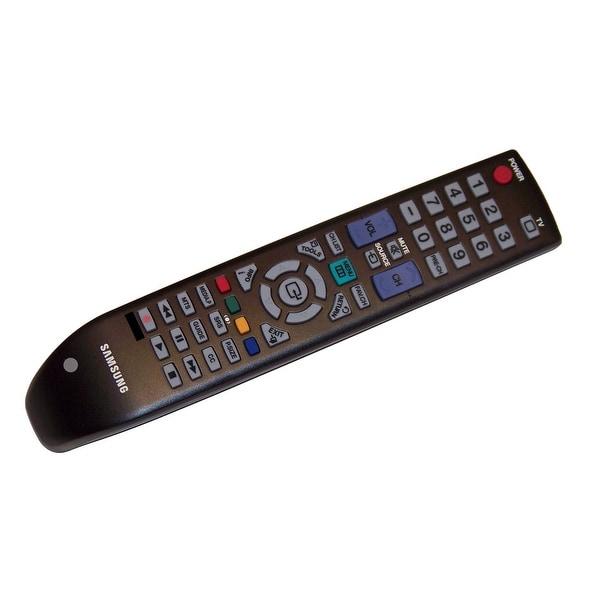 OEM Samsung Remote Control: LN52B610A6MXZD, PL42B450, PL42B450B1, PL42B450B1XZB, PL42B450B1XZD, PL50B450B1