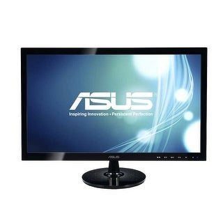 Refurbished - Asus VS197T-P 18.5 5ms Widescreen LED Backlight LCD Monitor Built in Speakers