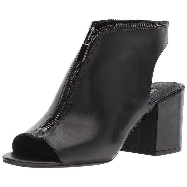 Shop Kenneth Cole New York Women s Verve Peep Toe Dress Bootie Front ... af8904b27