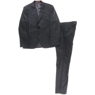 Tallia Mens Wool 2PC Two-Button Suit - 38s