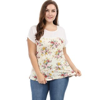 c64dbf08a4f Buy Polyester Women s Plus-Size Tops Online at Overstock