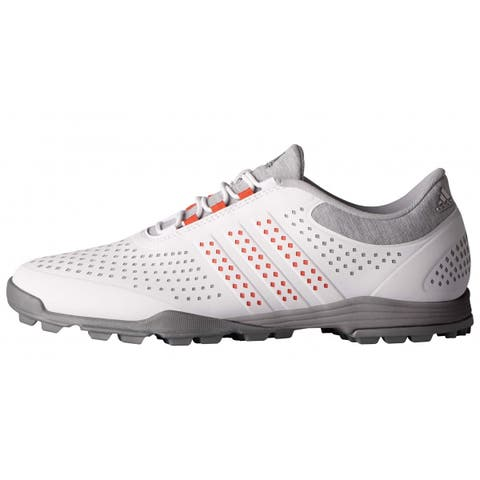 new styles 18cc6 053a9 New Adidas Women s Adipure Sport Light Grey Easy Coral Dark Silver Met Golf  Shoes