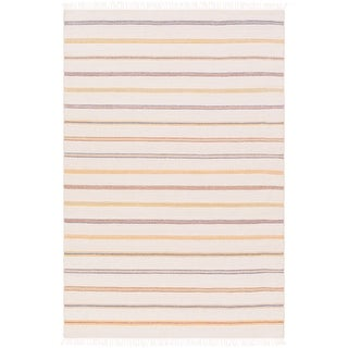 Hand-Woven Lisieux Wool/Cotton Area Rug