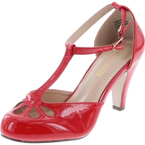 Chase & Chloe Womens Kimmy-36 Pumps Shoes