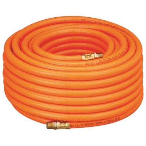 "Amflo 576-100A PVC Air Hose, Orange, 3/8"" x 100'"