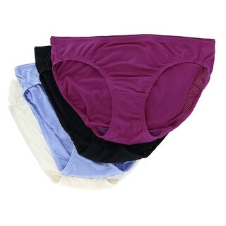 Fruit of the Loom Women's Breathable Micro Mesh Bikini Underwear (4 Pair Pack)