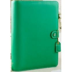 """Summer Green - Color Crush A5 Faux Leather Planner Kit 7.5""""X10"""""""