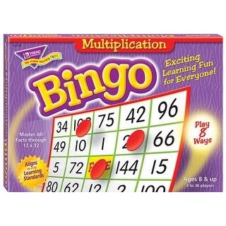 Bingo Multiplication Ages 8 & Up