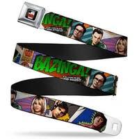 The Big Bang Theory Full Color Black White Red The Big Bang Theory Comic Seatbelt Belt