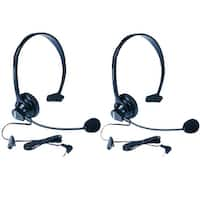 Uniden HS910 Headset (2 Pack) with Microphone for Cordless Phones