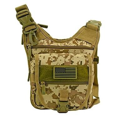 e85137c7fd Shop Tactical Sling Range Bag - Desert Digital Camo - Free Shipping On  Orders Over  45 - Overstock - 16053730
