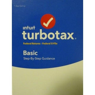 Intuit 605001 Turbotax Basic Federal + E-File Software 2017 For Windows & Mac