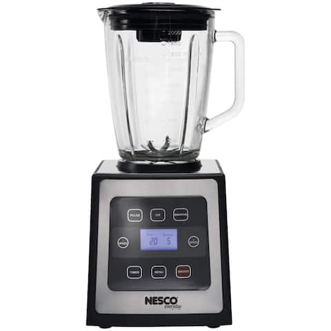 NESCO BL-90, Digital Control Stainless Stee Blender, Black & Silver, 700 watts
