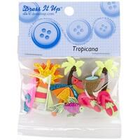 Dress It Up Embellishments-Tropicana