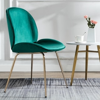 Link to Shell Shape Velvet Uphostered Dining Room Side Chair Similar Items in Dining Room & Bar Furniture