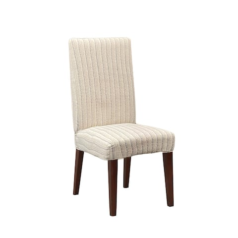 SureFit Home Decor Stretch Printed Velvet Dining Chair Slipcover