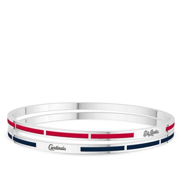 Sterling Silver Enamel Bracelet