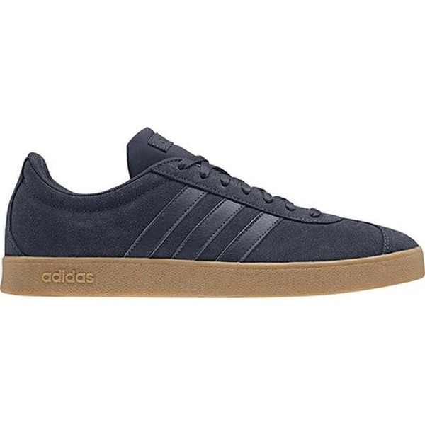new styles 65c49 bd127 Shop adidas Men s Vl Court 2.0 Trainer Light Granite Trace Blue Gum - Free  Shipping On Orders Over  45 - Overstock - 25585847 .
