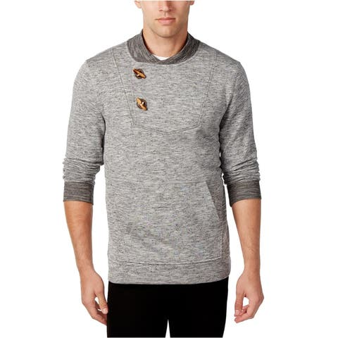 Retrofit Mens French Terry Toggle Pullover Sweater