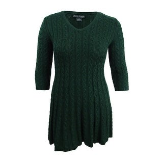 Link to Jessica Howard Women's Petite Cable-Knit Sweater Dress Similar Items in Petites