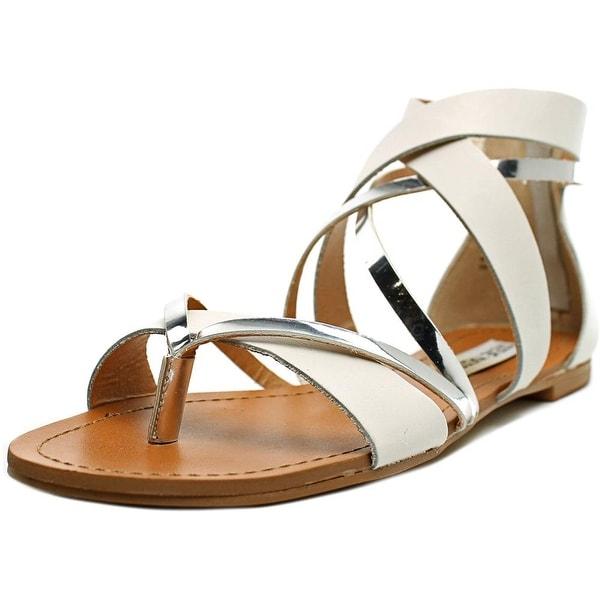 Shop Steve Madden Honore Women Open Toe Leather White
