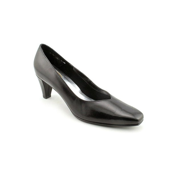Ros Hommerson Valentine Women N/S Round Toe Synthetic Black Heels