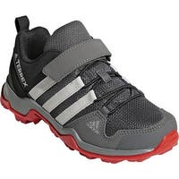 adidas Children's Terrex AX 2.0 R Cloudfoam Hiking Shoe Grey Four/Grey One/Hi-Res Red