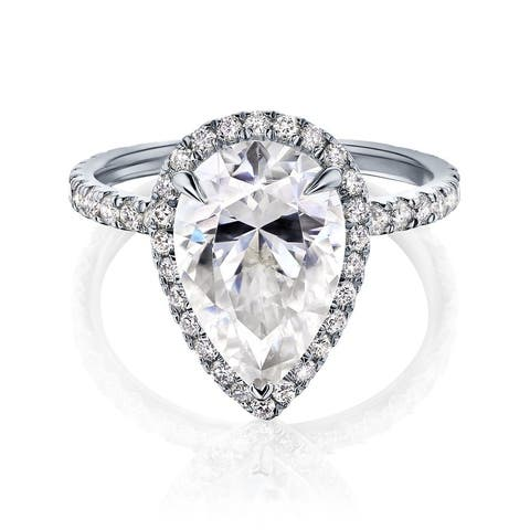 Annello by Kobelli 14k Gold Amelia Engagement Ring (FG/VS, DEF/VS)