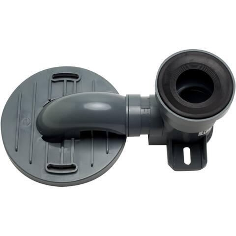 Eago R-326TRAP Replacement PVC Toilet Trap Rough In