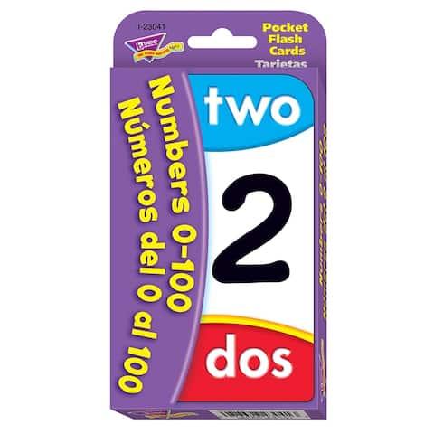 Numbers 0-100 Bilingual