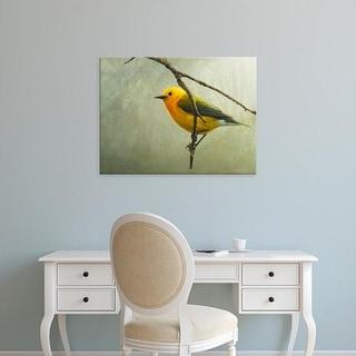 Easy Art Prints Chris Vest's 'Prothonotary Warbler' Premium Canvas Art