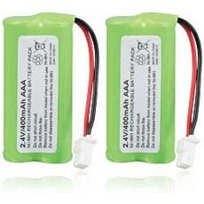 Replacement VTech BT166342 Battery for CS6128-42 / CS6529-14 / DS6670 Phone Models (2 Pack)